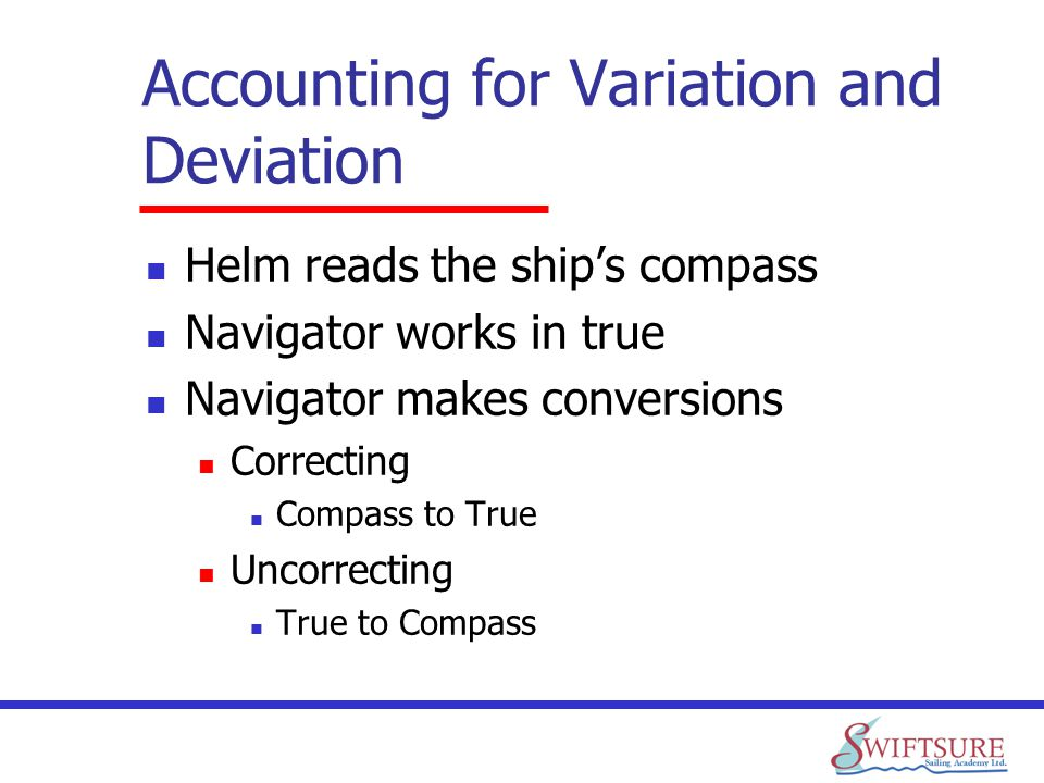 Accounting for Variation and Deviation