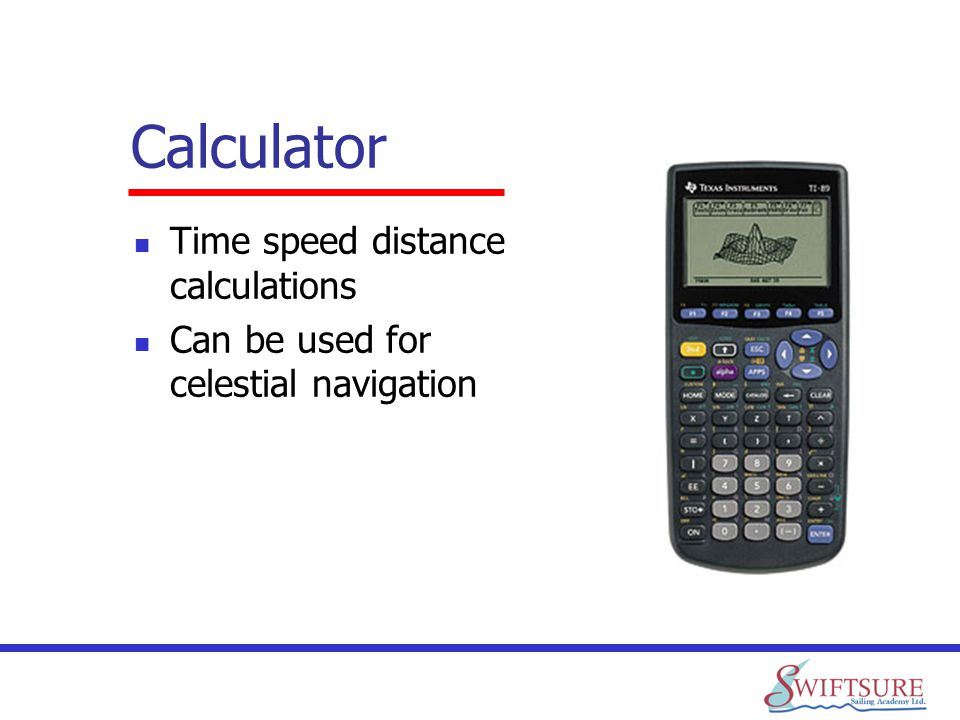 Calculator Time speed distance calculations