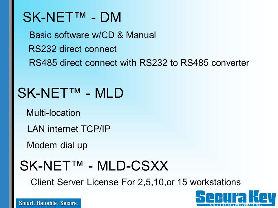 SK-NET™ - DM SK-NET™ - MLD SK-NET™ - MLD-CSXX