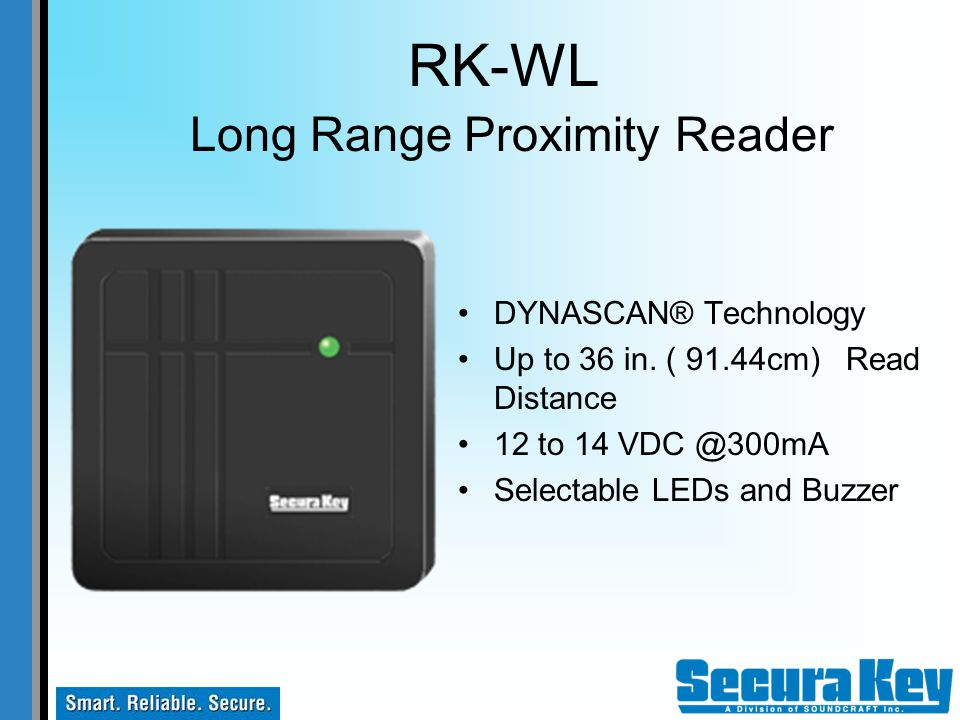 RK-WL Long Range Proximity Reader