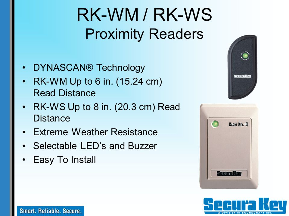 RK-WM / RK-WS Proximity Readers