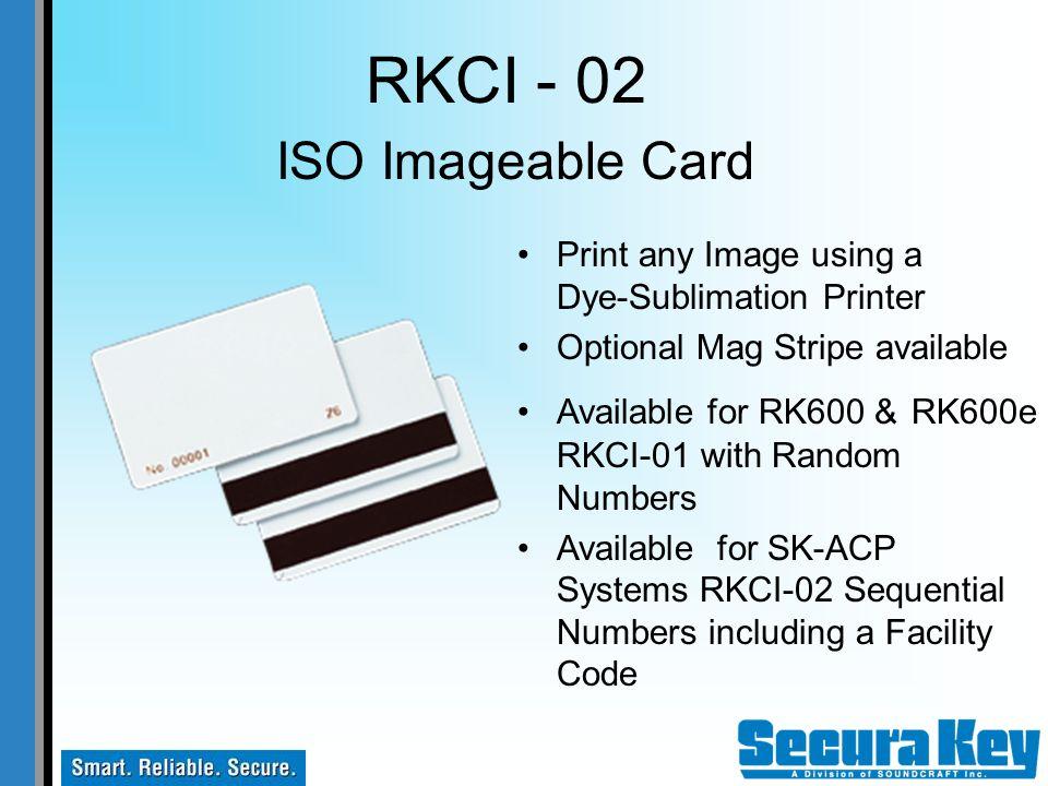 RKCI - 02 ISO Imageable Card