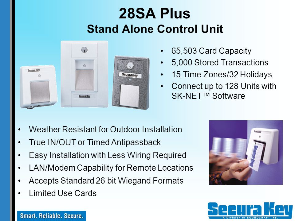 28SA Plus Stand Alone Control Unit