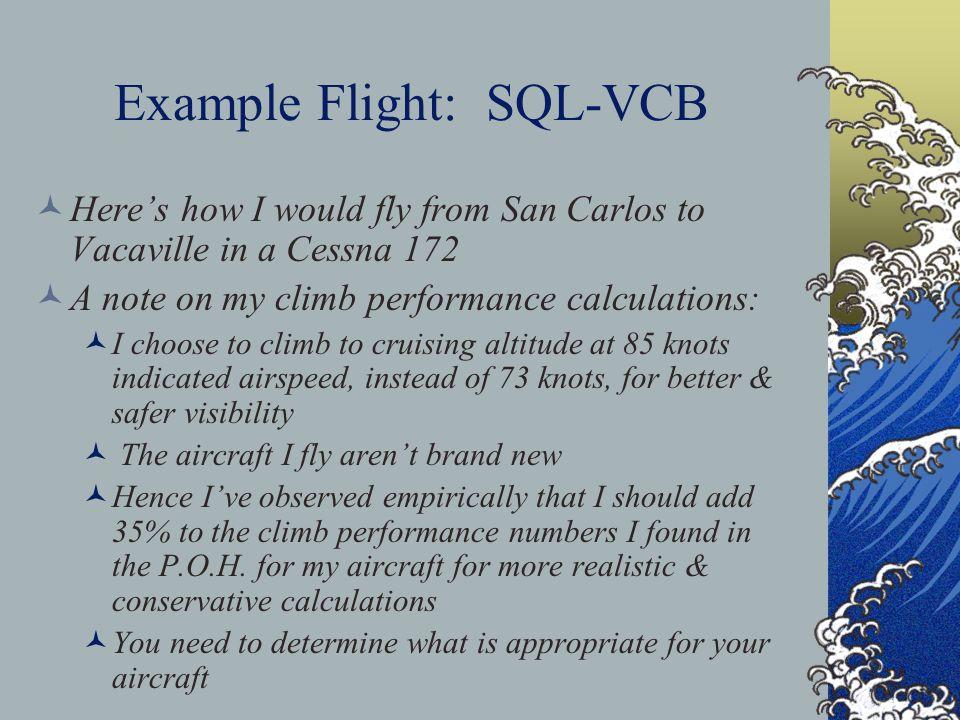 Example Flight: SQL-VCB
