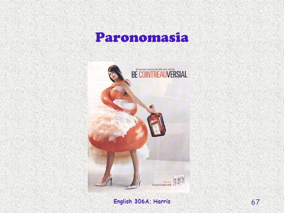 Paronomasia English 306A; Harris