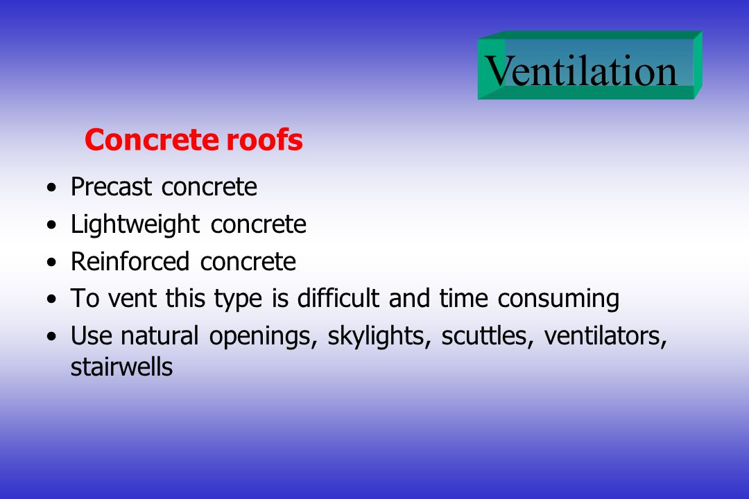 Concrete roofs Precast concrete Lightweight concrete