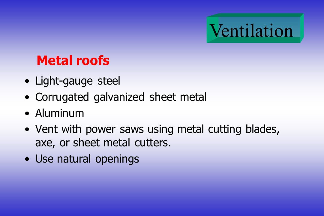 Metal roofs Light-gauge steel Corrugated galvanized sheet metal