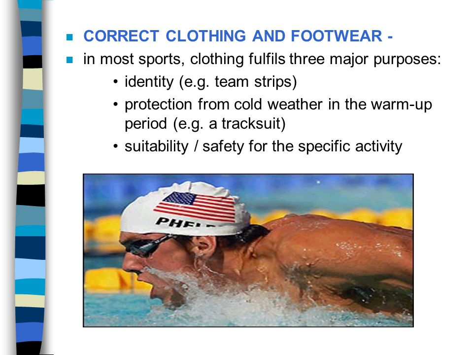 CORRECT CLOTHING AND FOOTWEAR -