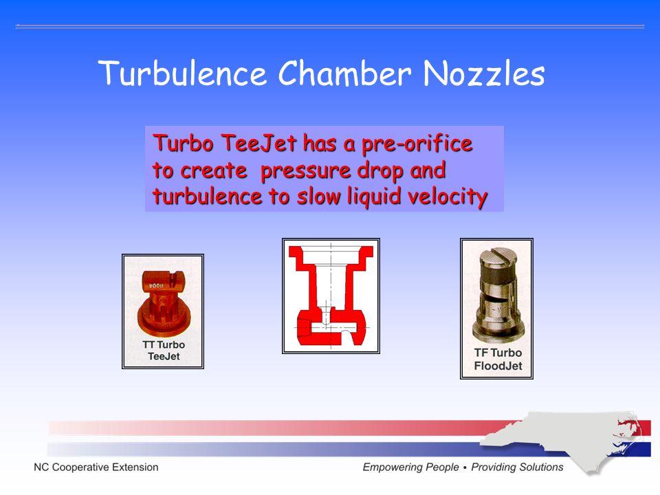 Turbulence Chamber Nozzles