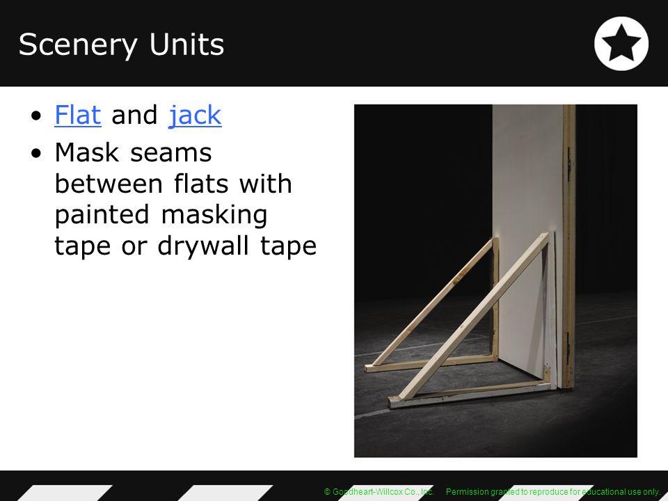 Scenery Units Flat and jack