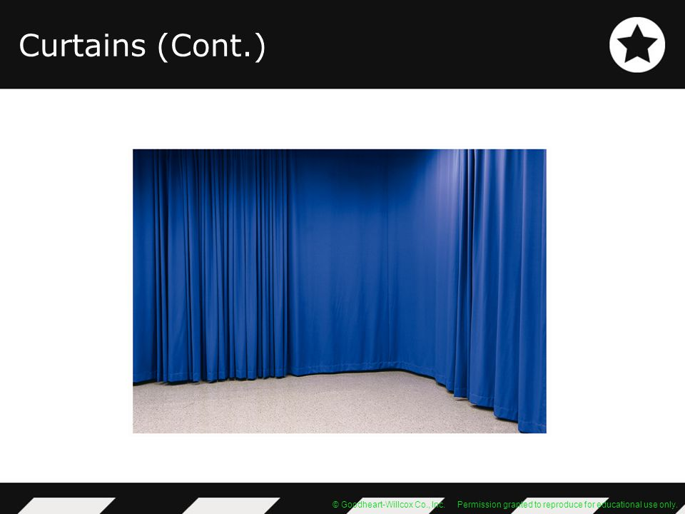 Curtains (Cont.)