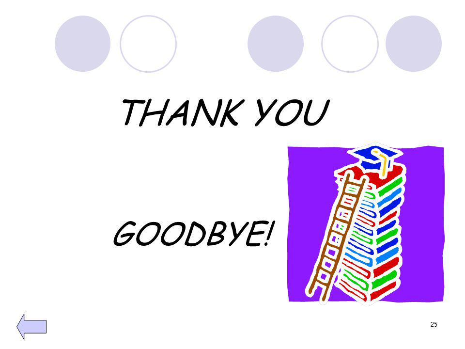 THANK YOU GOODBYE! 25
