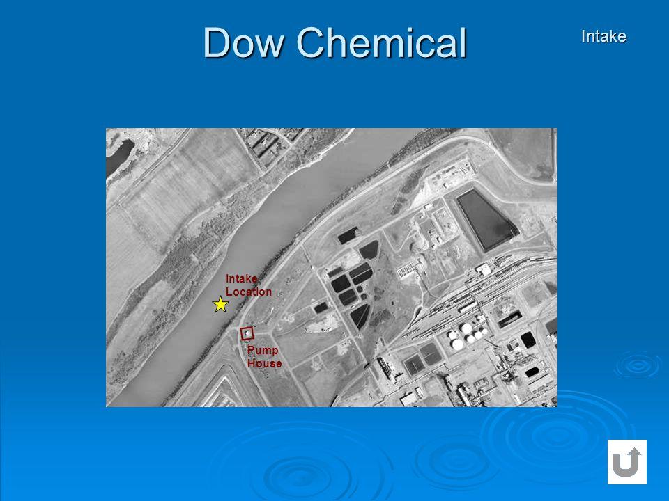 Dow Chemical Intake Intake Location Pump House