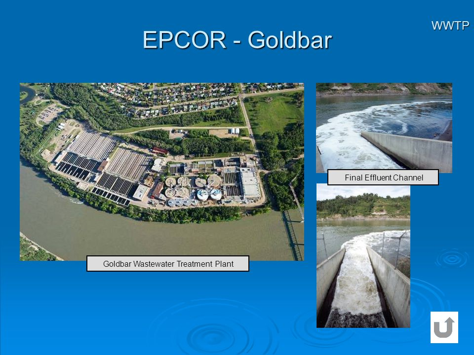 EPCOR - Goldbar WWTP Final Effluent Channel