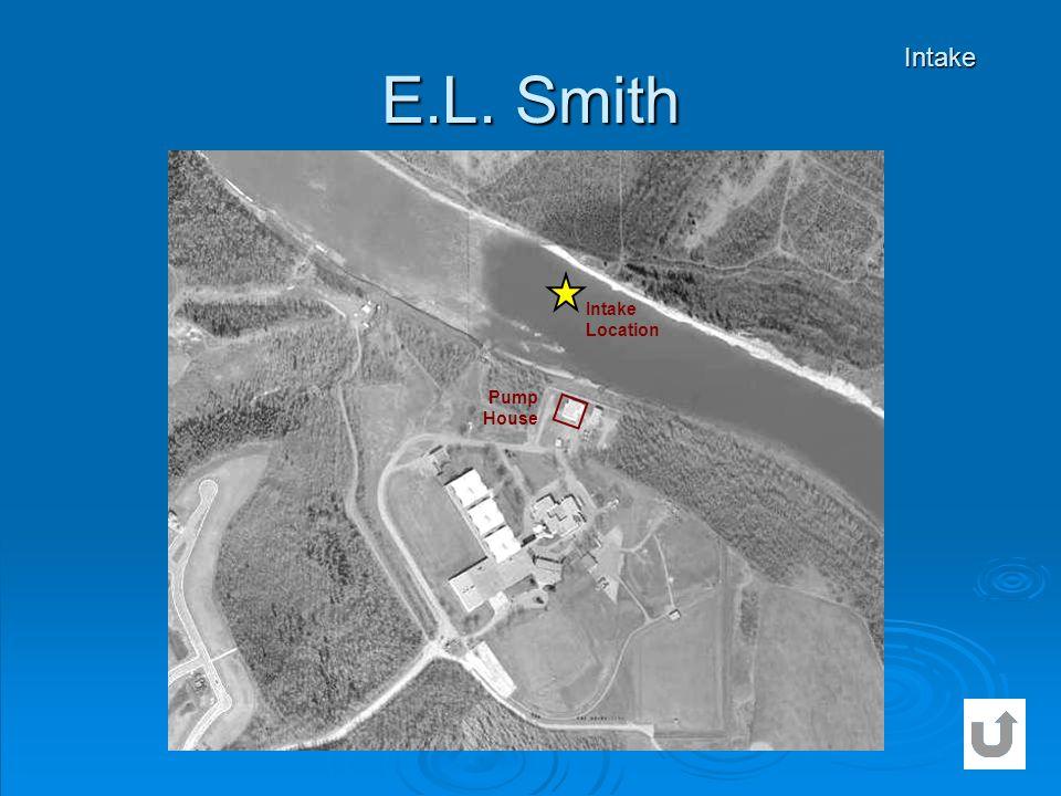 E.L. Smith Intake Intake Location Pump House