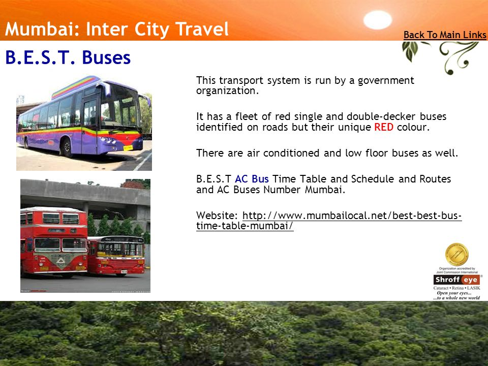 Mumbai: Inter City Travel