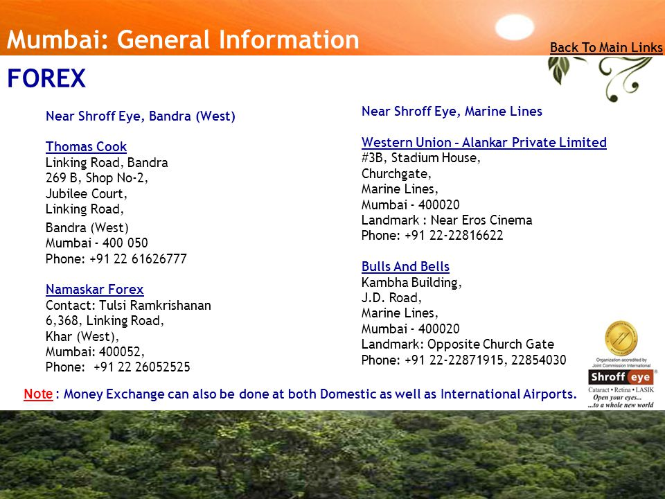 Mumbai: General Information