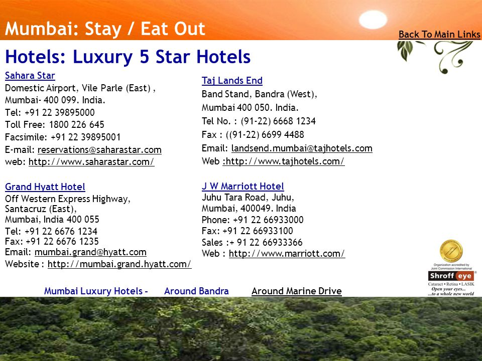 Hotels: Luxury 5 Star Hotels