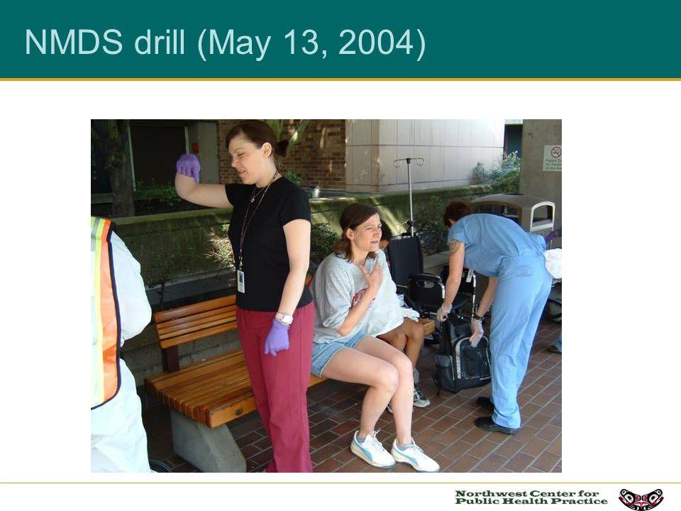 NMDS drill (May 13, 2004)