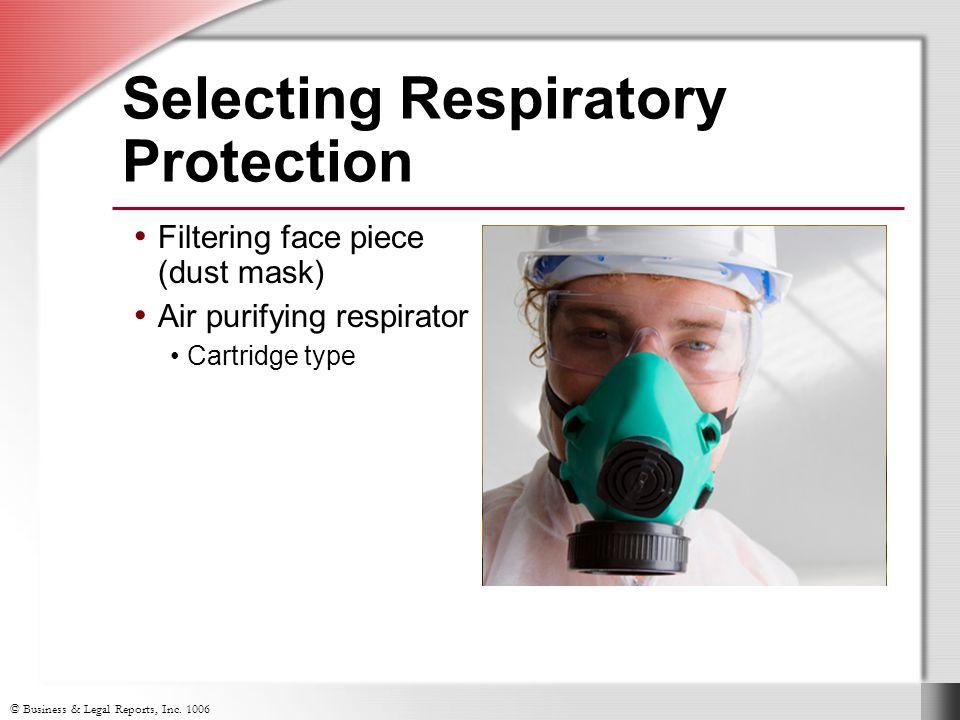 Selecting Respiratory Protection