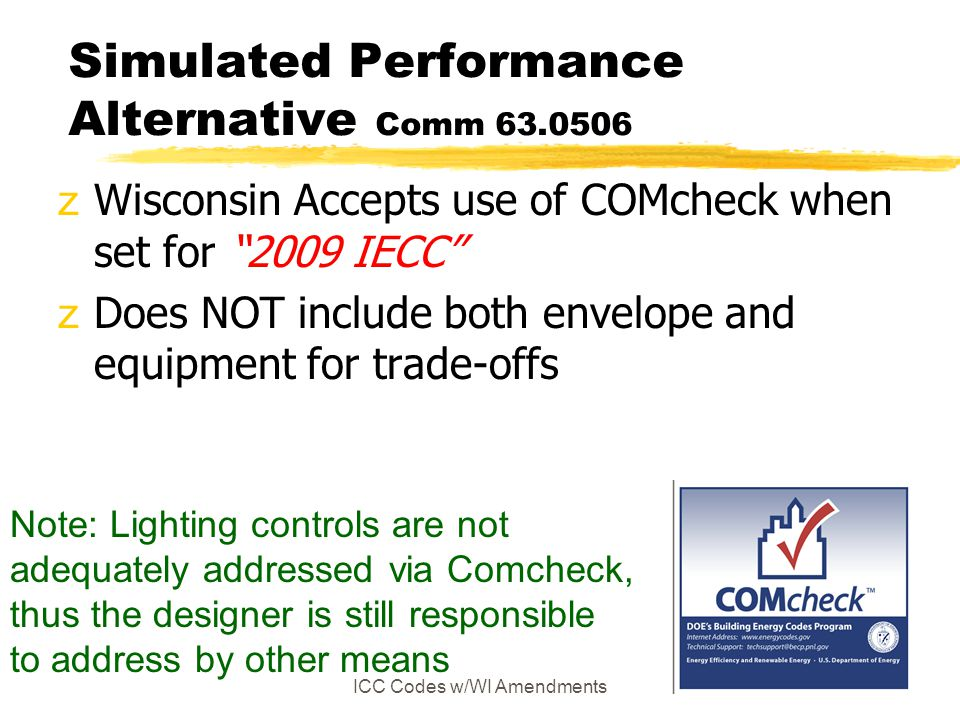 Simulated Performance Alternative Comm 63.0506