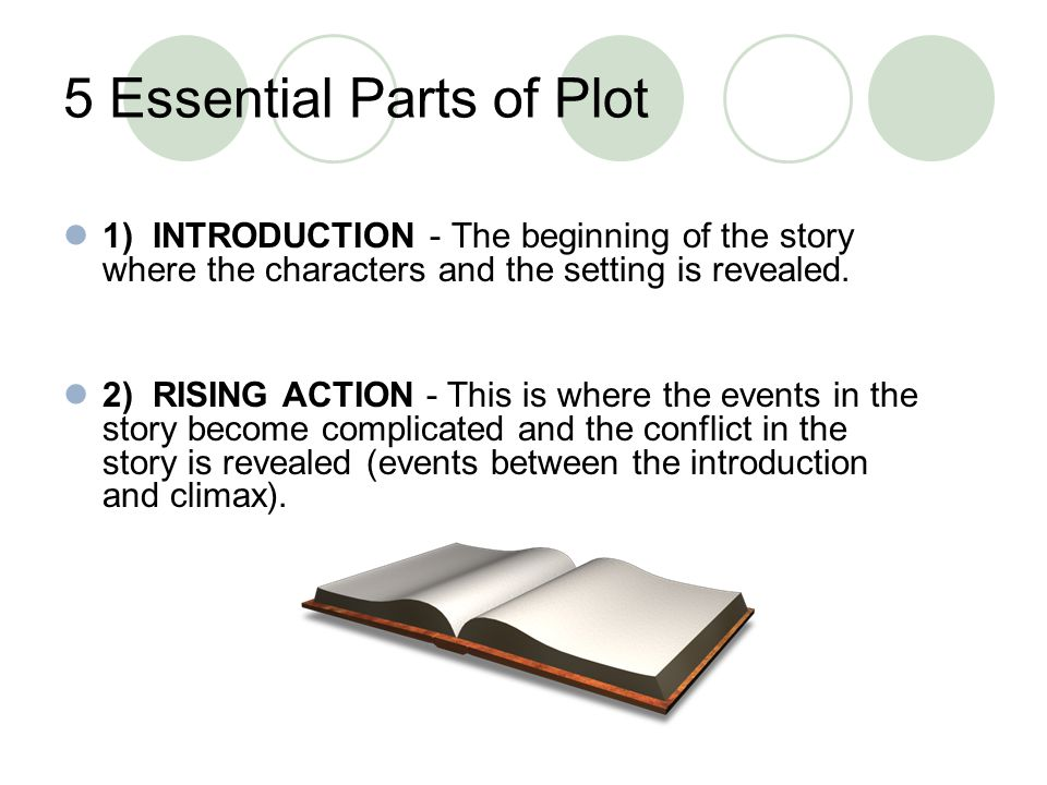 5 Essential Parts of Plot