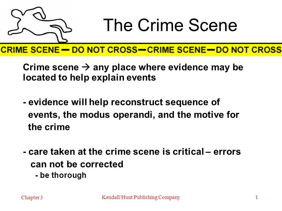 CORPUS DELICTI Body of the Crime