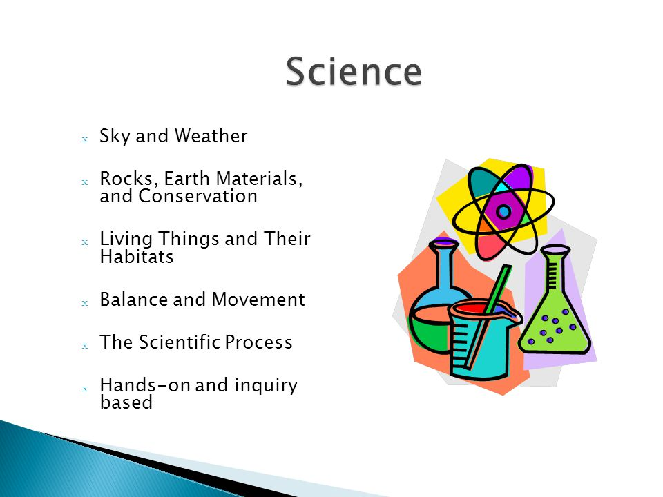 Science Sky and Weather Rocks, Earth Materials, and Conservation