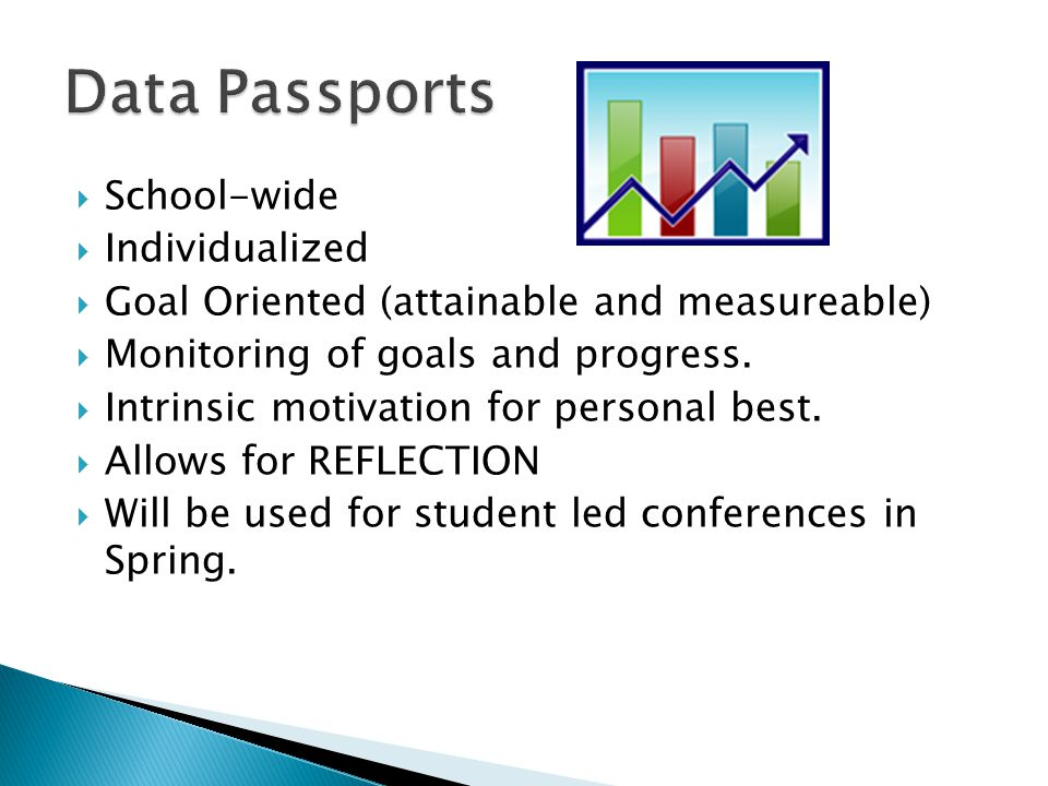 Data Passports School-wide Individualized