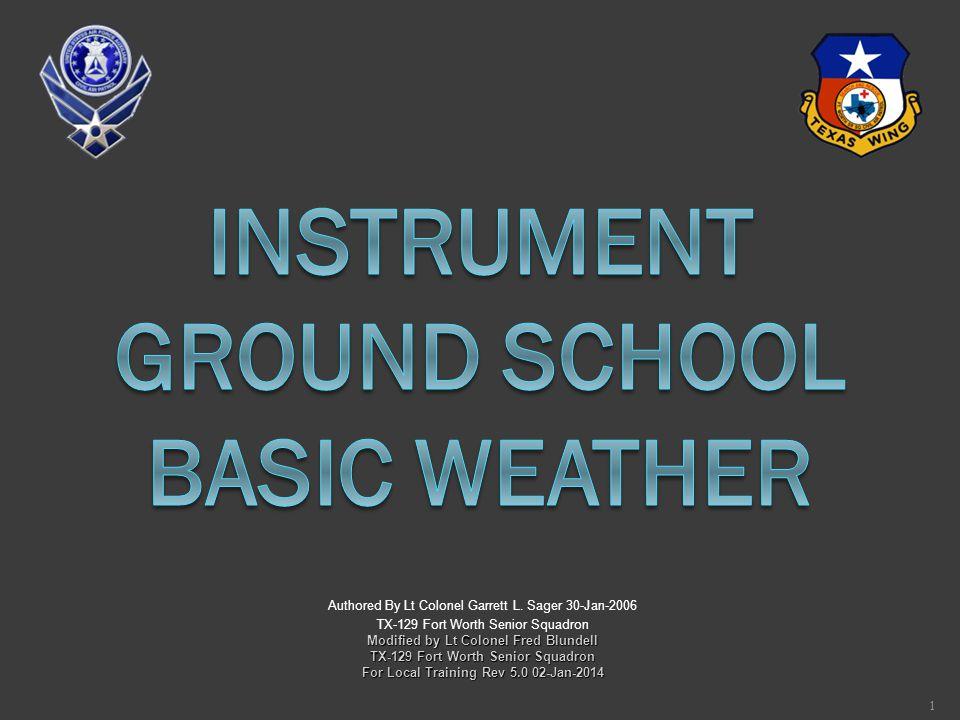 Instrument Ground School Basic Weather