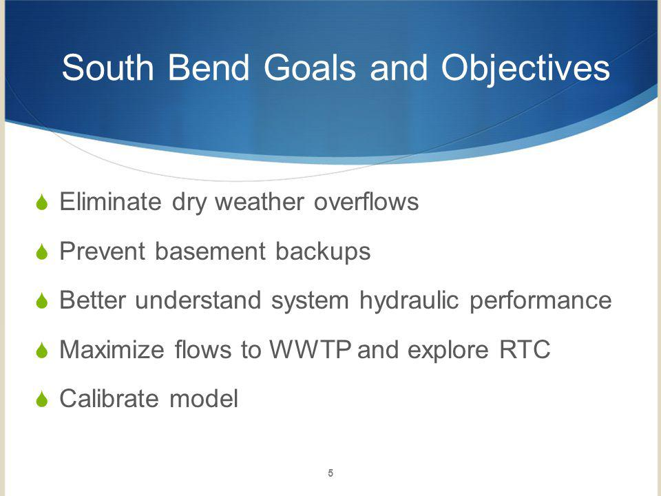 South Bend Goals and Objectives