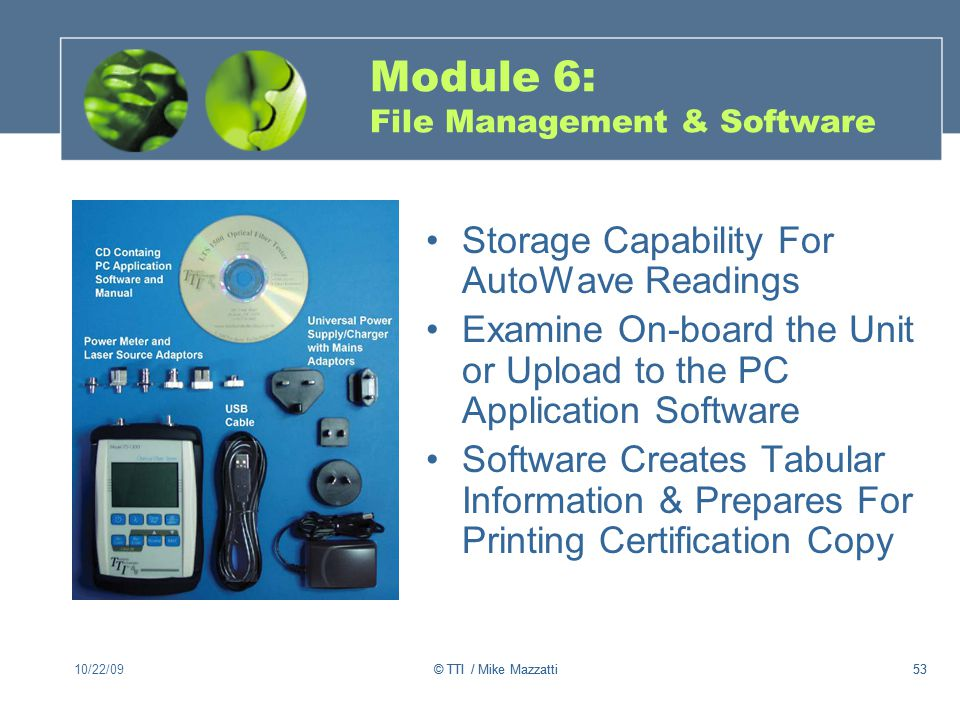 Module 6: File Management & Software