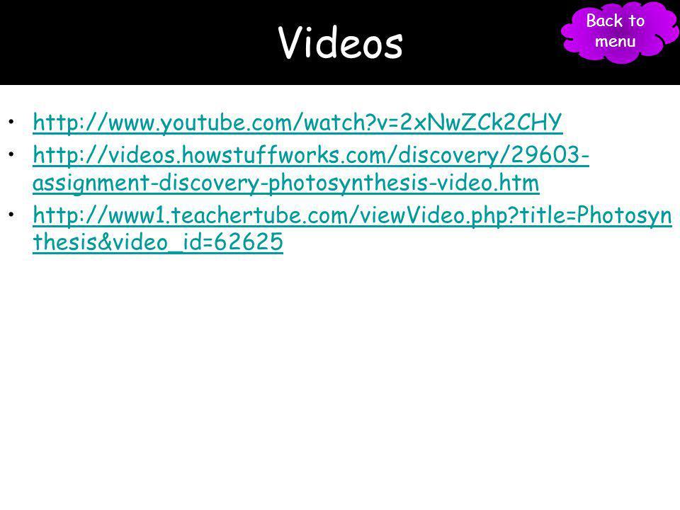 Videos http://www.youtube.com/watch v=2xNwZCk2CHY