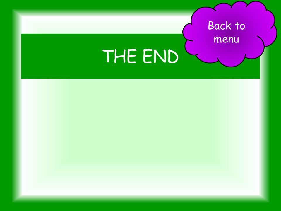 Back to menu THE END