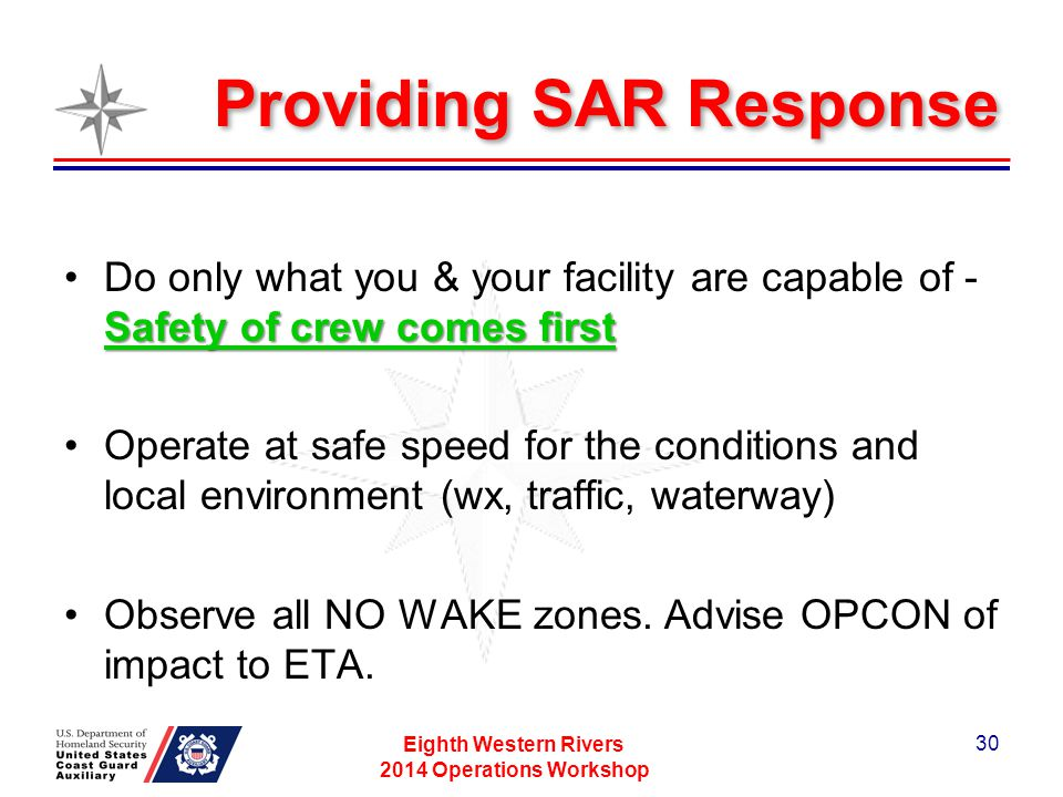 Providing SAR Response