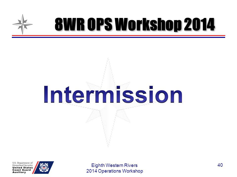 Eighth Western Rivers 2014 Operations Workshop
