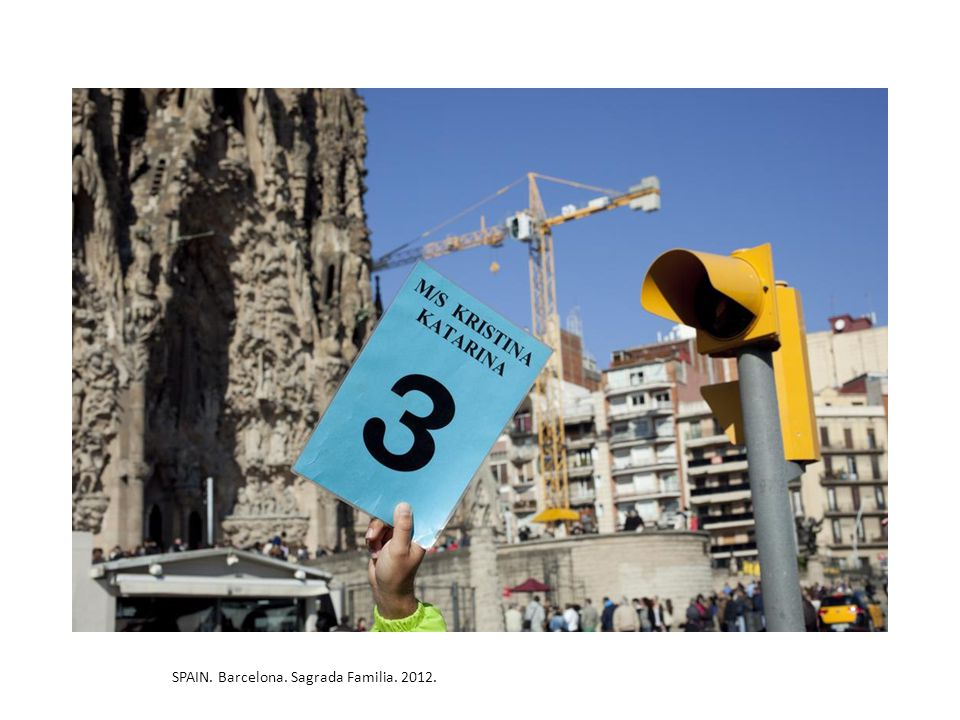 SPAIN. Barcelona. Sagrada Familia. 2012.
