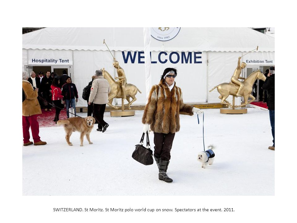 SWITZERLAND. St Moritz. St Moritz polo world cup on snow