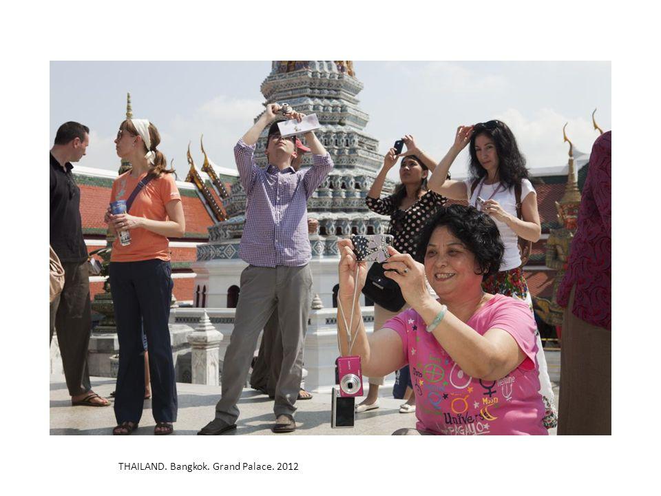 THAILAND. Bangkok. Grand Palace. 2012