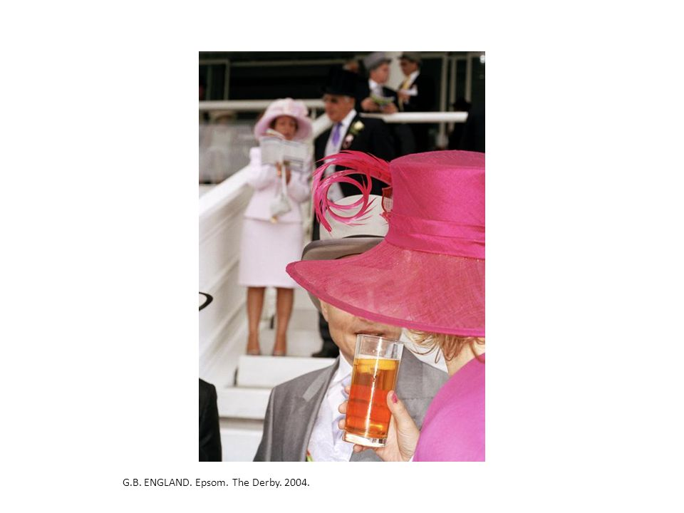 G.B. ENGLAND. Epsom. The Derby. 2004.