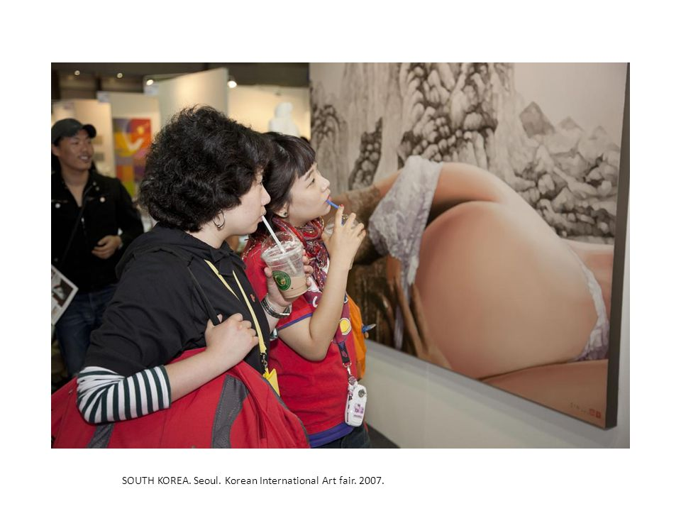 SOUTH KOREA. Seoul. Korean International Art fair. 2007.