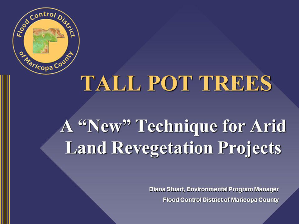 A New Technique for Arid Land Revegetation Projects