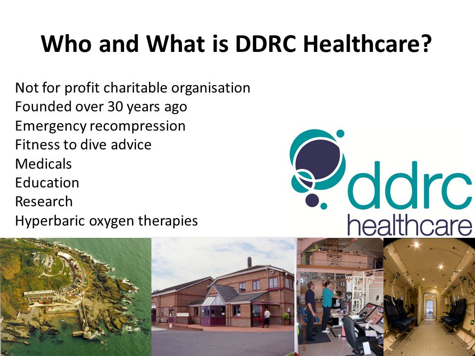 Who and What is DDRC Healthcare