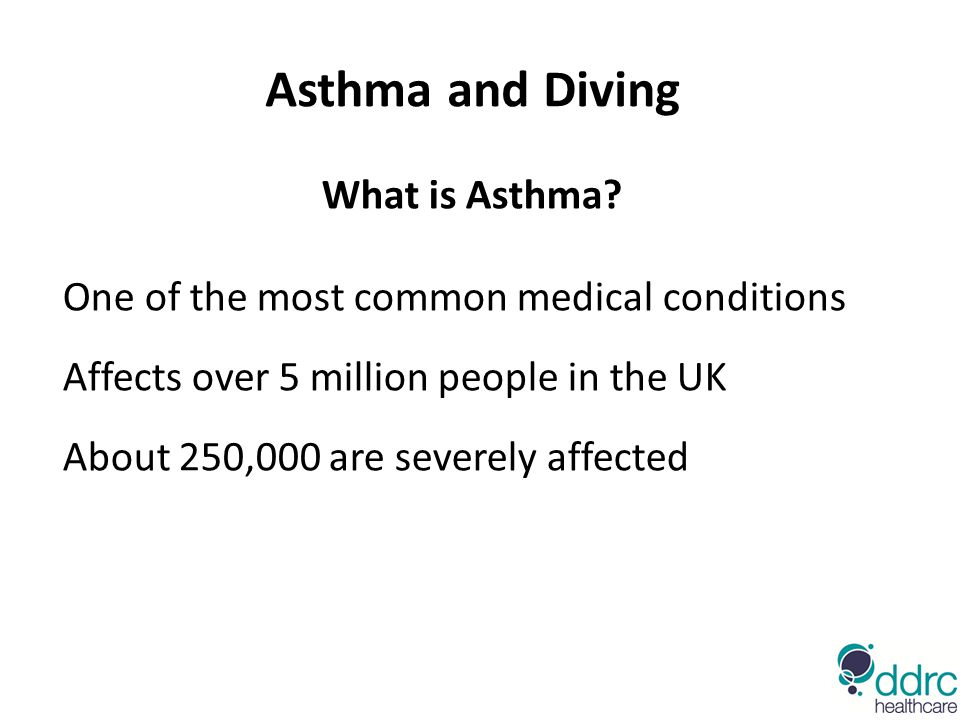 Asthma and Diving What is Asthma