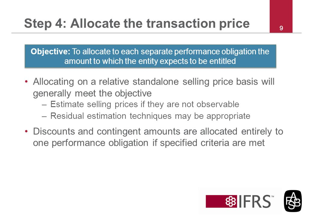 Step 4: Allocate the transaction price