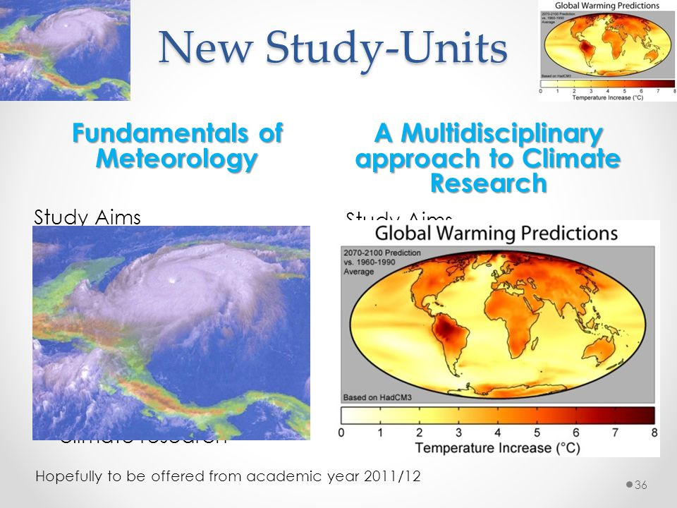New Study-Units Fundamentals of Meteorology