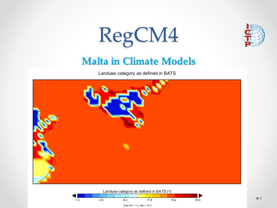 Malta in Climate Models