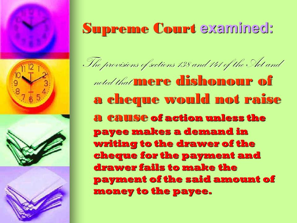Supreme Court examined:
