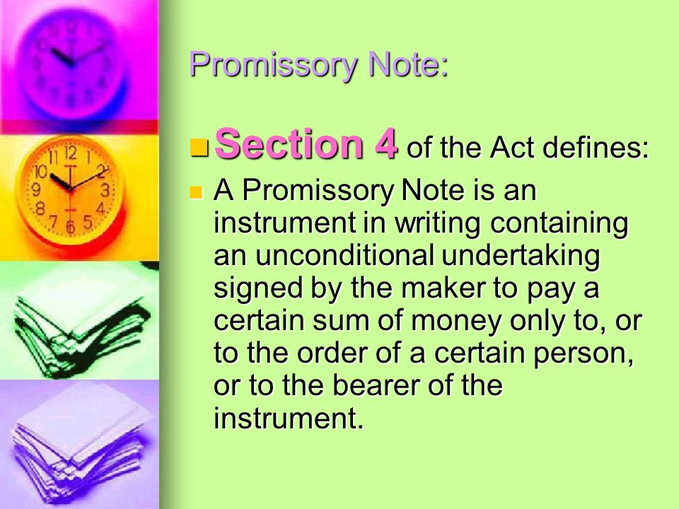Section 4 of the Act defines: