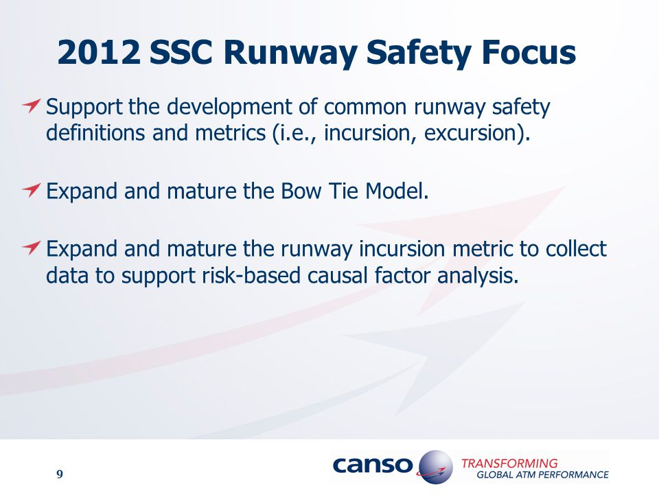 2012 SSC Runway Safety Focus